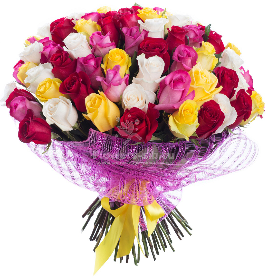 Bouquet Of 75 Roses At The Price 7520 Fast Delivery Of Flowers And