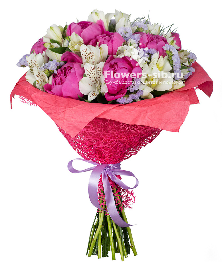 Pink of perfection at the price 5180 - fast delivery of bouquets ...