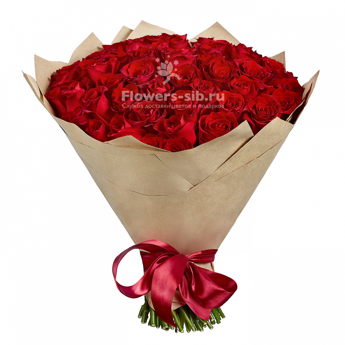 Bouquet of 55 roses at the price 5631 - delivery of bouquets flowers ...